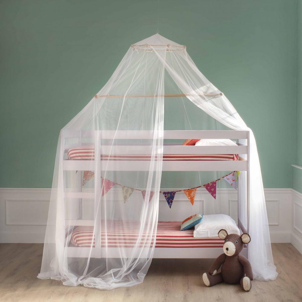 Lit Superposé 3 Étages marta moustiquaire pour lit superposé - une ouverture