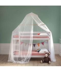 MARTA zanzariera per letto a castello - una apertura