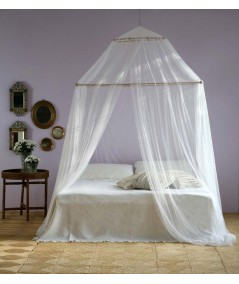 TINA Mosquito Net for King Size Bed - one Opening