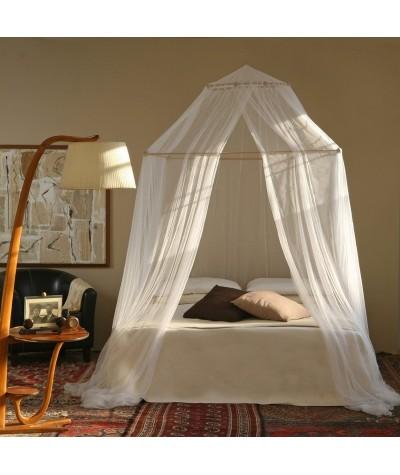 TINA mosquiteiro para cama de viúva/casal - uma abertura
