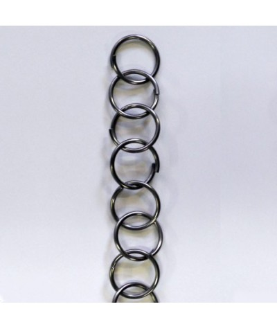 Big rings stainless steel chain