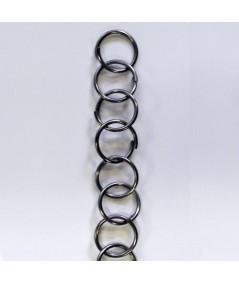 Chaîne en acier inoxydable à grands anneaux