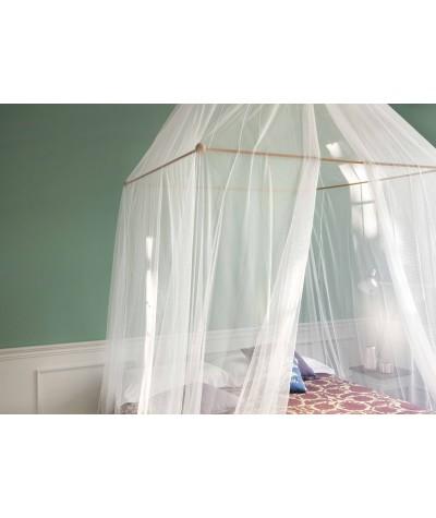 TINA Mosquitera para cama matrimonial - una abertura