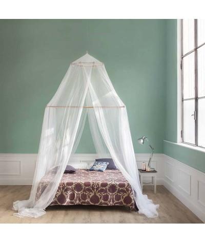 TINA Moustiquaire pour lit double - quatre ouvertures