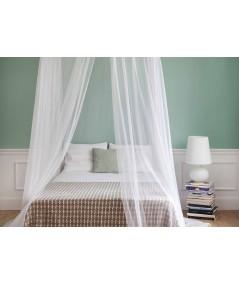 TINA mosquitera para cama de una plaza y media - una abertura