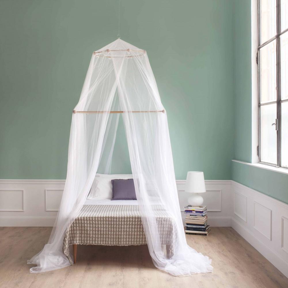 TINA Moskitonetz für Französisches Bett - vier Öffnungen